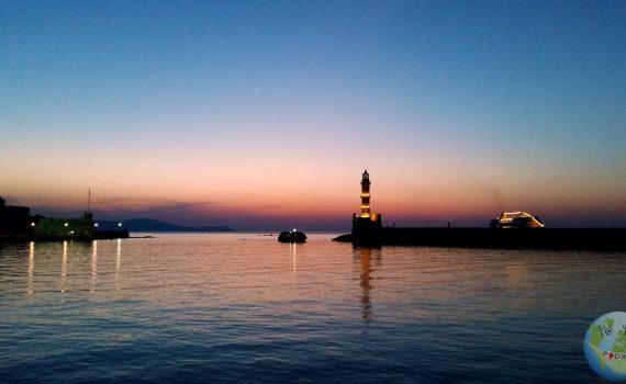 Grecja - Kreta - spacer po Chani. Koncert fortepianowy.